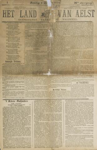 Het Land van Aelst 1885