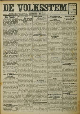 De Volksstem 1932-01-07