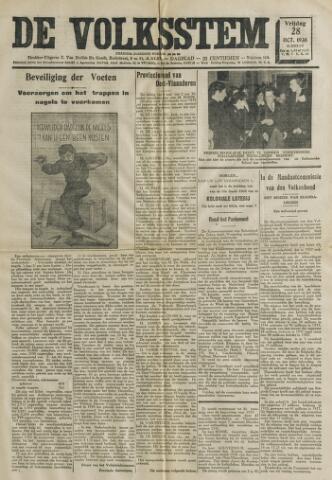 De Volksstem 1938-10-28
