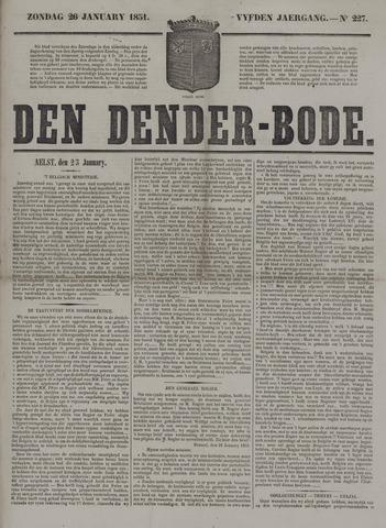De Denderbode 1851-01-26