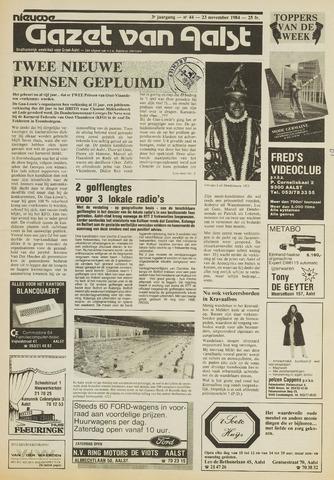 Nieuwe Gazet van Aalst 1984-11-23