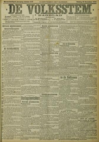 De Volksstem 1915-11-25