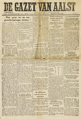 De Gazet van Aalst 1956