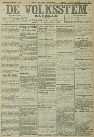 De Volksstem 1914-12-27
