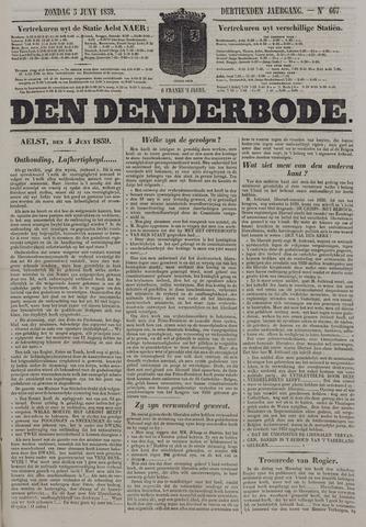 De Denderbode 1859-06-05