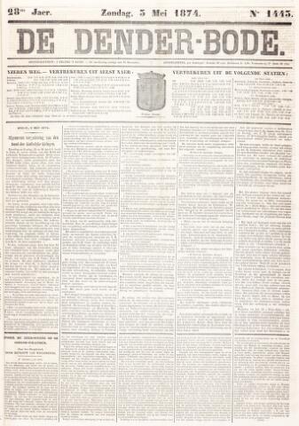 De Denderbode 1874-05-03