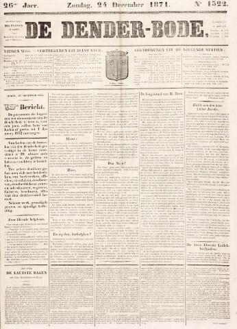 De Denderbode 1871-12-24