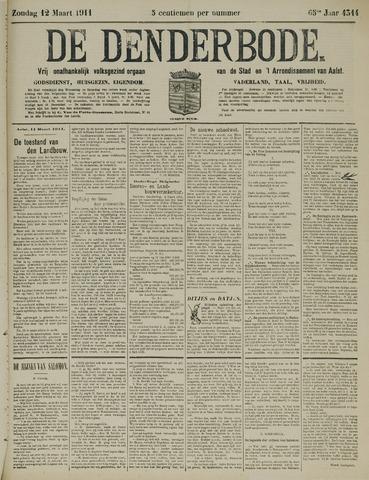 De Denderbode 1911-03-12