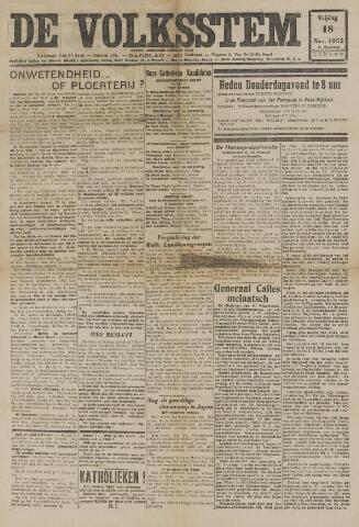 De Volksstem 1932-11-18