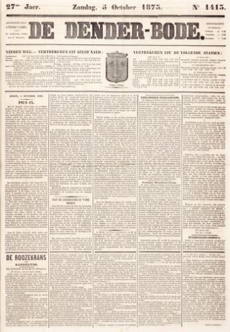 De Denderbode 1873-10-05