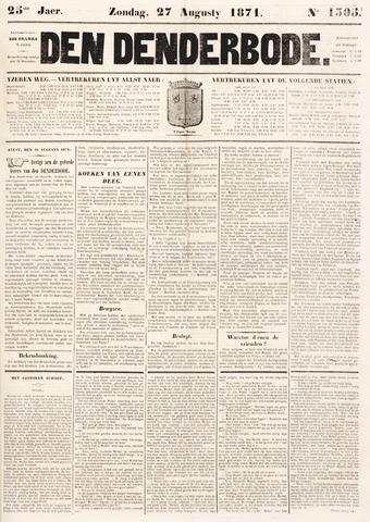 De Denderbode 1871-08-27