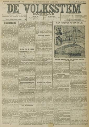 De Volksstem 1910-08-31