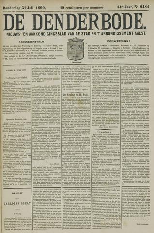De Denderbode 1890-07-31