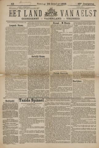 Het Land van Aelst 1888-10-28