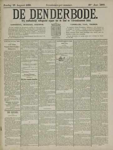 De Denderbode 1895-08-25