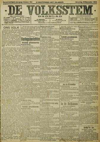 De Volksstem 1915-11-13