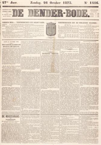 De Denderbode 1873-10-26