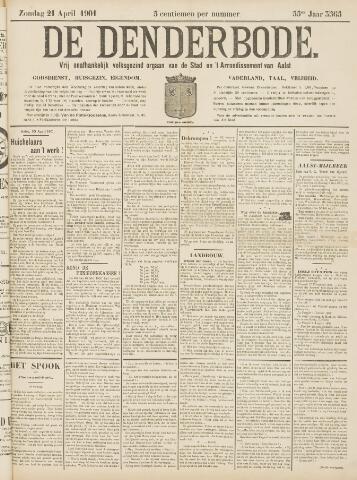 De Denderbode 1901-04-21
