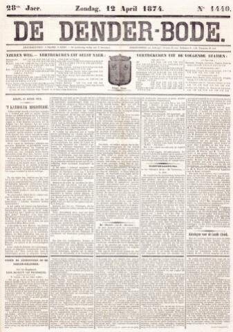 De Denderbode 1874-04-12