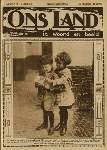 Ons Land 1927