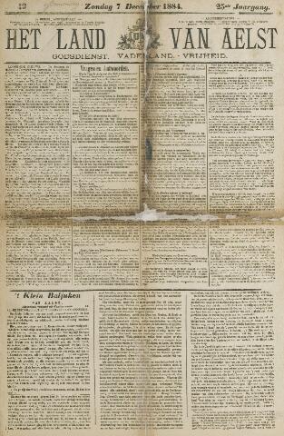 Het Land van Aelst 1884-12-07