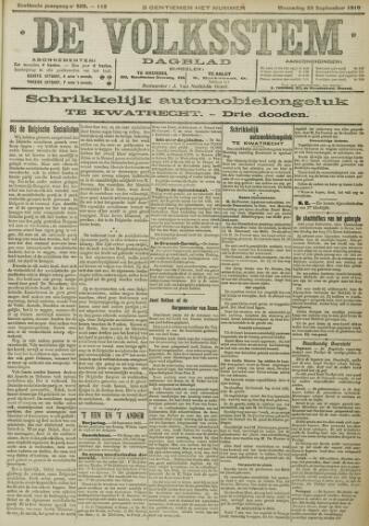De Volksstem 1910-09-28