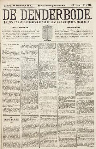 De Denderbode 1887-12-11