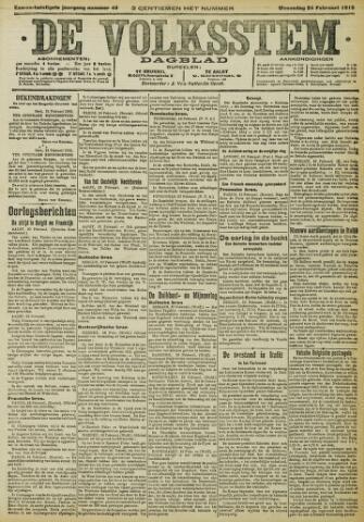De Volksstem 1915-02-24