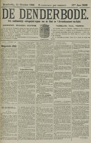 De Denderbode 1906-10-11