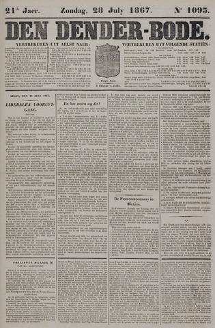De Denderbode 1867-07-28