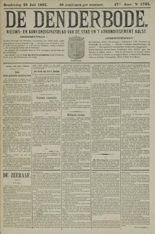 De Denderbode 1893-07-20