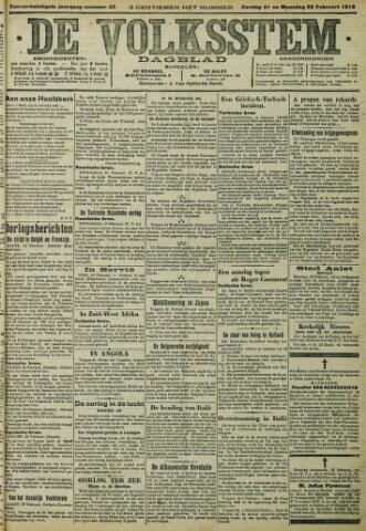 De Volksstem 1915-02-21
