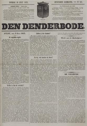 De Denderbode 1853-07-10