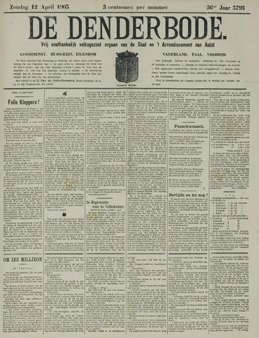 De Denderbode 1903-04-12