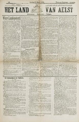 Het Land van Aelst 1881-03-27