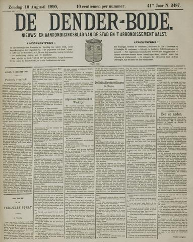De Denderbode 1890-08-10