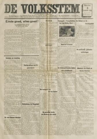 De Volksstem 1938-02-05