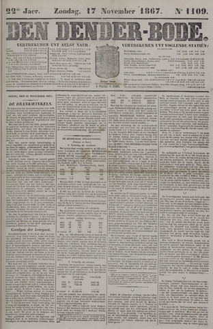 De Denderbode 1867-11-17
