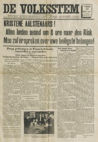 De Volksstem 1938-09-23