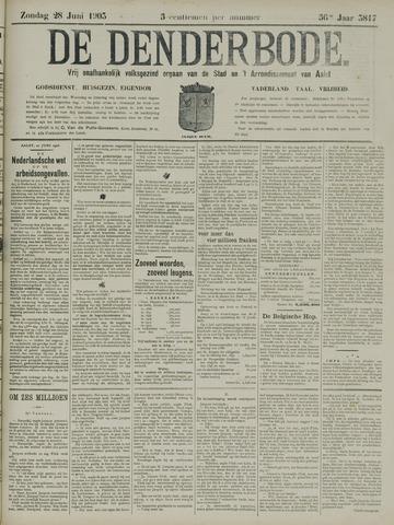 De Denderbode 1903-06-28
