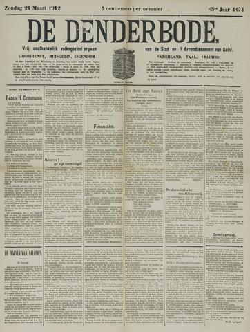 De Denderbode 1912-03-24