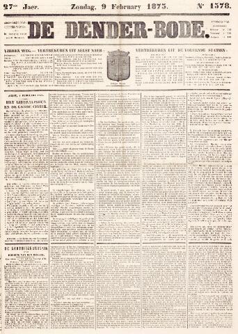 De Denderbode 1873-02-09