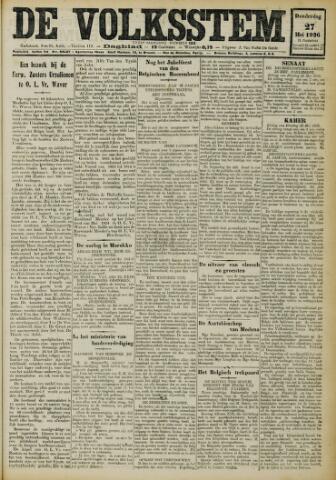 De Volksstem 1926-05-27