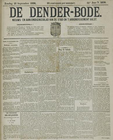 De Denderbode 1890-09-21