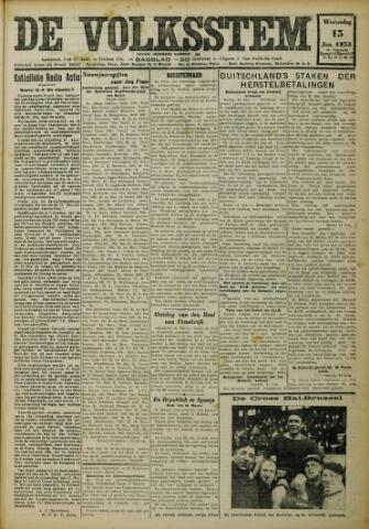 De Volksstem 1932-01-13