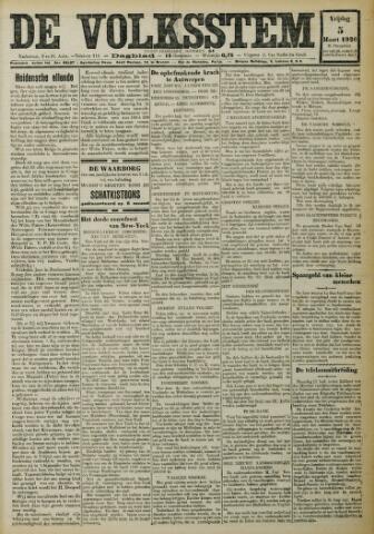 De Volksstem 1926-03-05