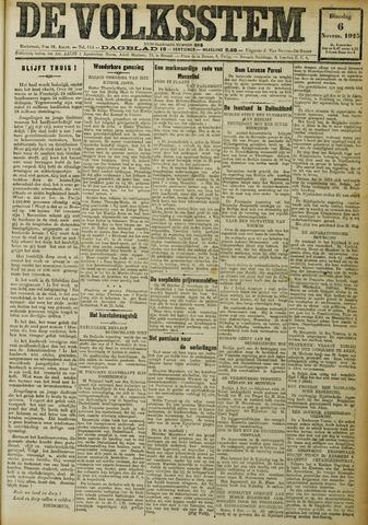 De Volksstem 1923-11-06
