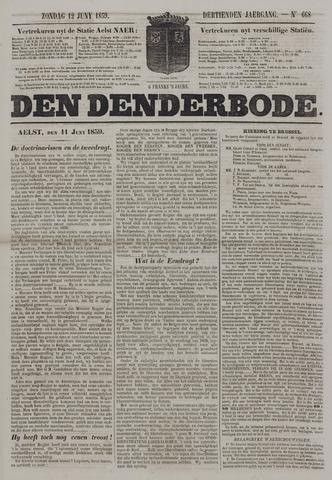 De Denderbode 1859-06-12