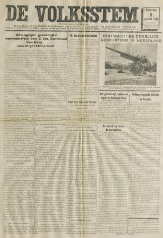 De Volksstem 1938-01-08