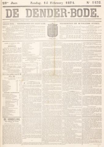 De Denderbode 1874-02-15